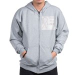 Orchid Paws Cure Zip Hoodie
