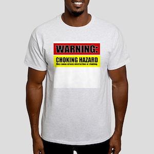 BJJ Choking Hazard Light T-Shirt