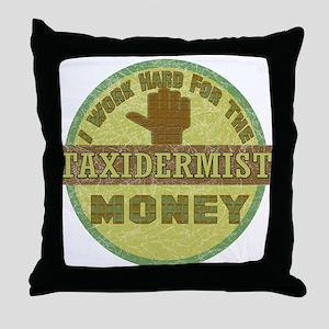 Taxidermist Throw Pillow