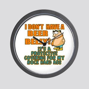 My Beer Belly Wall Clock