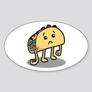 Sad Taco Sticker