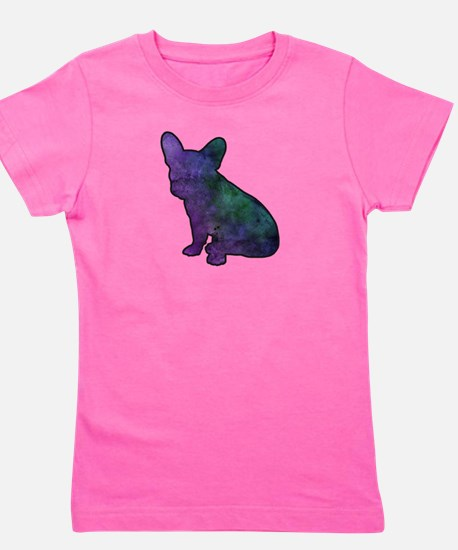 Unique French bulldog dog art Girl's Tee