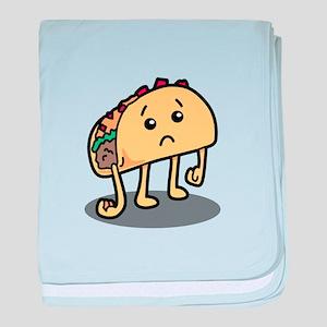 Sad Taco baby blanket