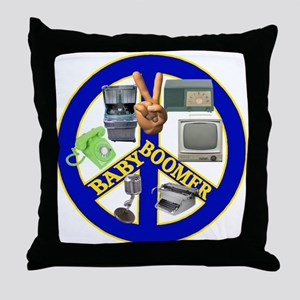 Baby Boomers Throw Pillow