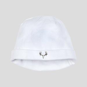 Deer skull baby hat