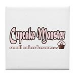 Cupcake Monster Tile Coaster