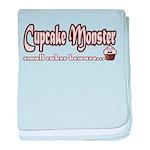 Cupcake Monster baby blanket