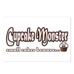 Cupcake Monster Postcards (Package of 8)