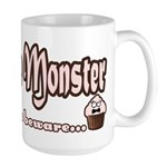 Cupcake Monster Large Mug