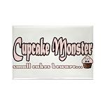 Cupcake Monster Rectangle Magnet (100 pack)
