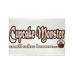Cupcake Monster Rectangle Magnet