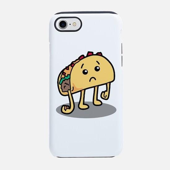 Sad Taco iPhone 7 Tough Case