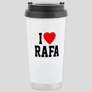 I Love Rafa Stainless Steel Travel Mug