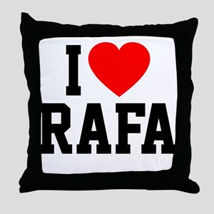 I Love Rafa Throw Pillow