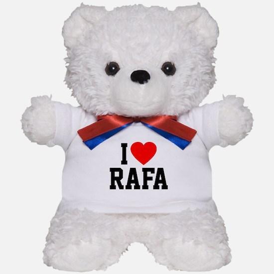 I Love Rafa Teddy Bear