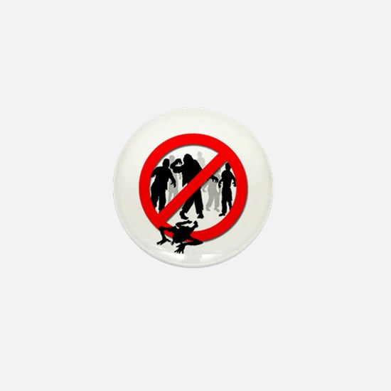 Mini Button - Zombie Free!