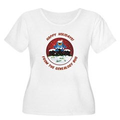 Happy Holidays! From The Genealogy Bug T-Shirt