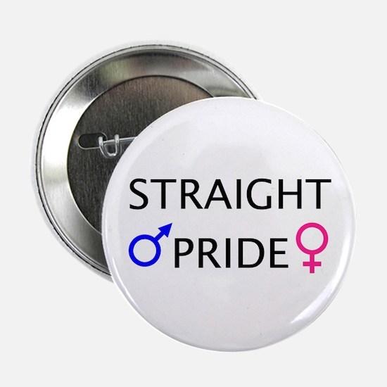 Button: Straight Pride