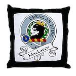 MacLaren Clan Badge Throw Pillow