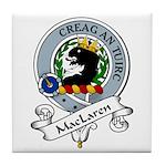 MacLaren Clan Badge Tile Coaster