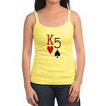 Kh5s Poker Jr. Spaghetti Tank