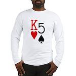 Kh5s Poker Long Sleeve T-Shirt