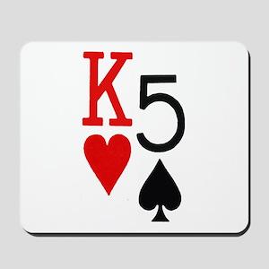 Kh5s Poker Mousepad