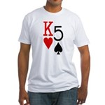 Kh5s Poker Fitted T-Shirt