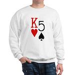 Kh5s Poker Sweatshirt