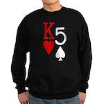 Kh5s Poker Sweatshirt (dark)