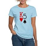 Kh5s Poker Women's Light T-Shirt
