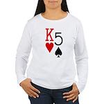 Kh5s Poker Women's Long Sleeve T-Shirt