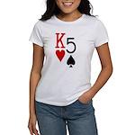 Kh5s Poker Women's T-Shirt