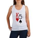 Kh5s Poker Women's Tank Top