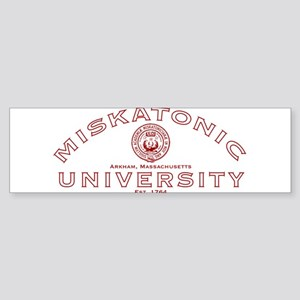 Miskatonic University Sticker (Bumper)