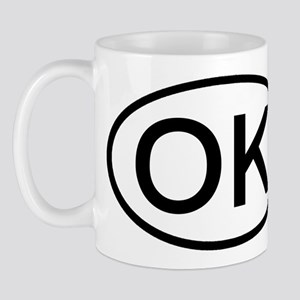 Oklahoma - OK - US Oval Mug