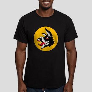 Luftwaffe Secret Project Men's Fitted T-Shirt (dar