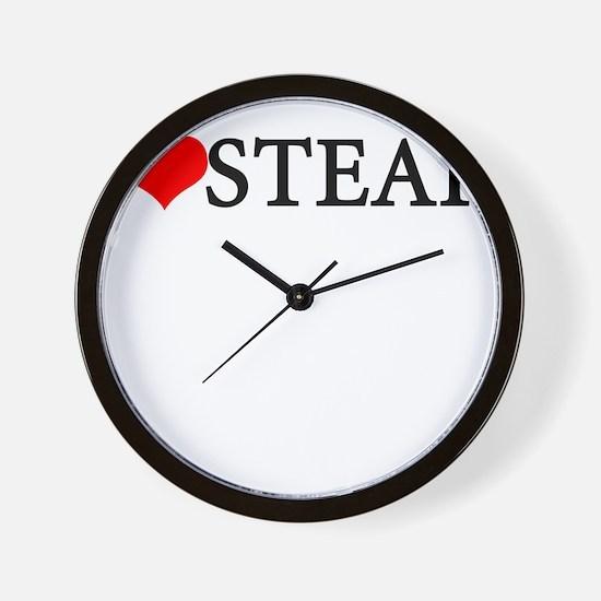 I love steak Wall Clock