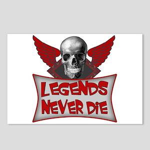 Legends Never Die Postcards (Package of 8)