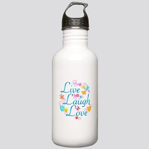 Live Laugh Love Stainless Water Bottle 1.0L