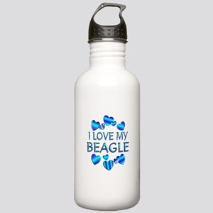 Beagle Stainless Water Bottle 1.0L
