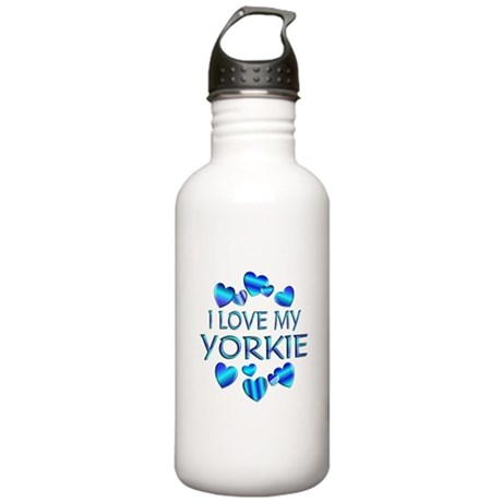 Yorkie Stainless Water Bottle 1.0L