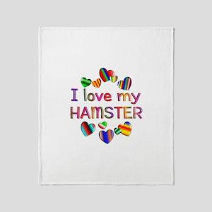 Hamster Throw Blanket