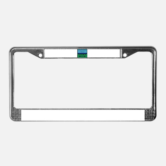 Unique Mum License Plate Frame