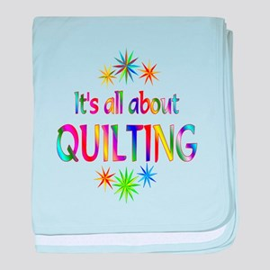 Quilting baby blanket
