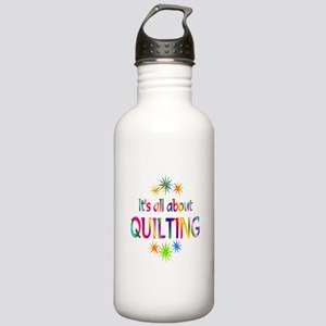 Quilting Stainless Water Bottle 1.0L