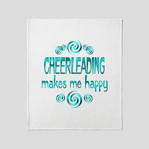 Cheerleading Throw Blanket