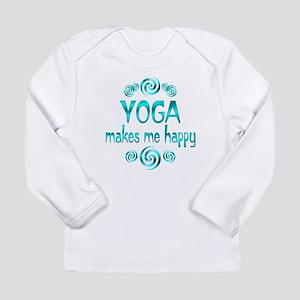 Yoga Happiness Long Sleeve Infant T-Shirt
