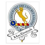 ManKintosh Clan Badge Small Poster