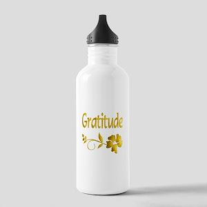 Gratitude Stainless Water Bottle 1.0L